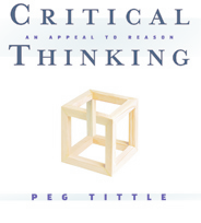 Critical Thinking - An Appeal to Reason.  A book written by LSAT Tutor Peg Tittle